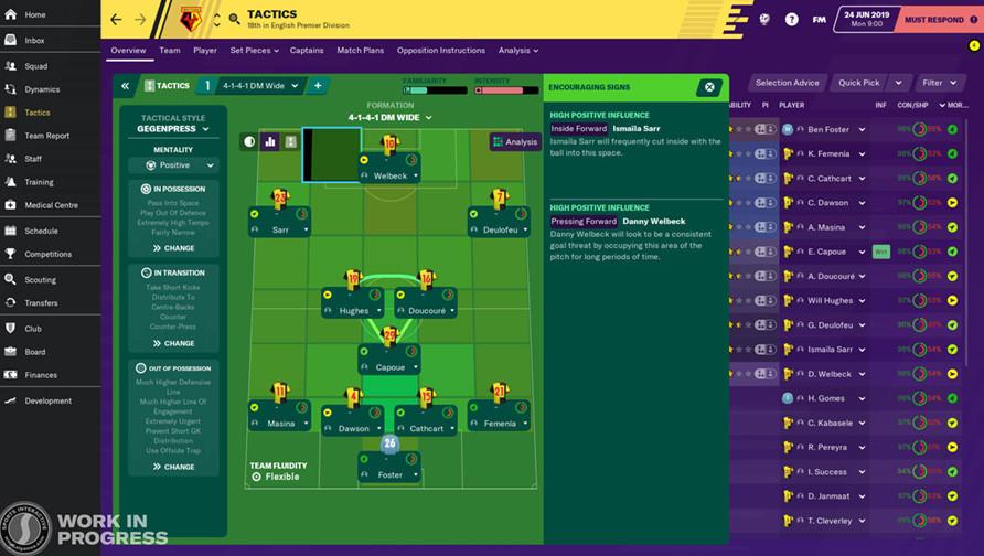 Football Manager 2020 mobile full apk indir