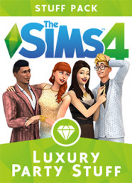 The Sims 4: Luxury Party Stuff Pack (DLC)