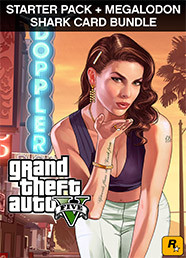 Grand Theft Auto V - CESP + Megalodon Shark Card Bundle