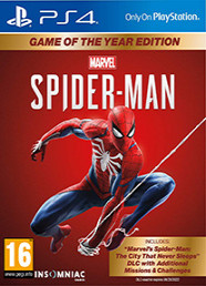 Marvel's Spider-Man Game of The Year Edition (PS4) Kuponu