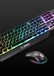 MSI Vigor GK30 Combo RGB Klavye + Clutch GM11 Mouse Set Kuponu