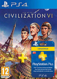 Sid Meier's Civilization VI (PS4) + 3 Aylık Plus Kuponu
