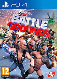 WWE 2K Battlegrounds (PS4) Kuponu