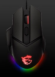 MSI Clutch GM20 Elite RGB Gaming Mouse Kuponu